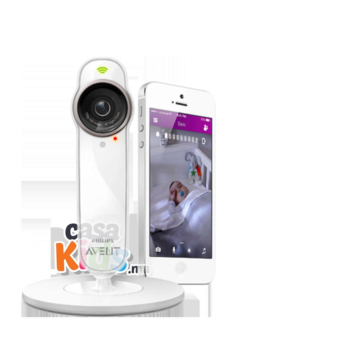 Écoute-bébé connecté SCD860 baby phone caméra uGrow - Philips Avent