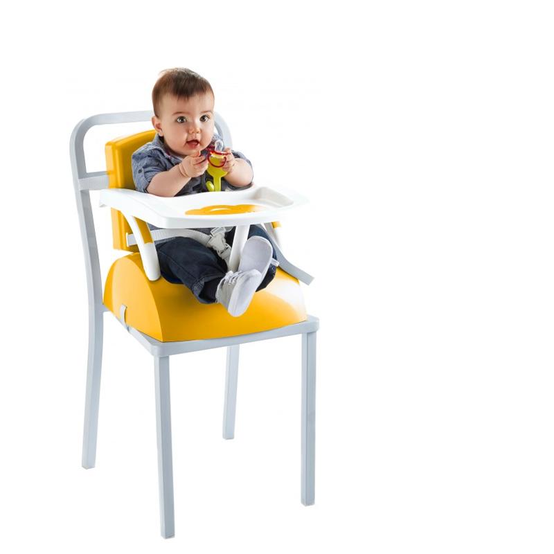 Rehausseur de chaise évolutif ananas/ blanc cassé - Thermobaby