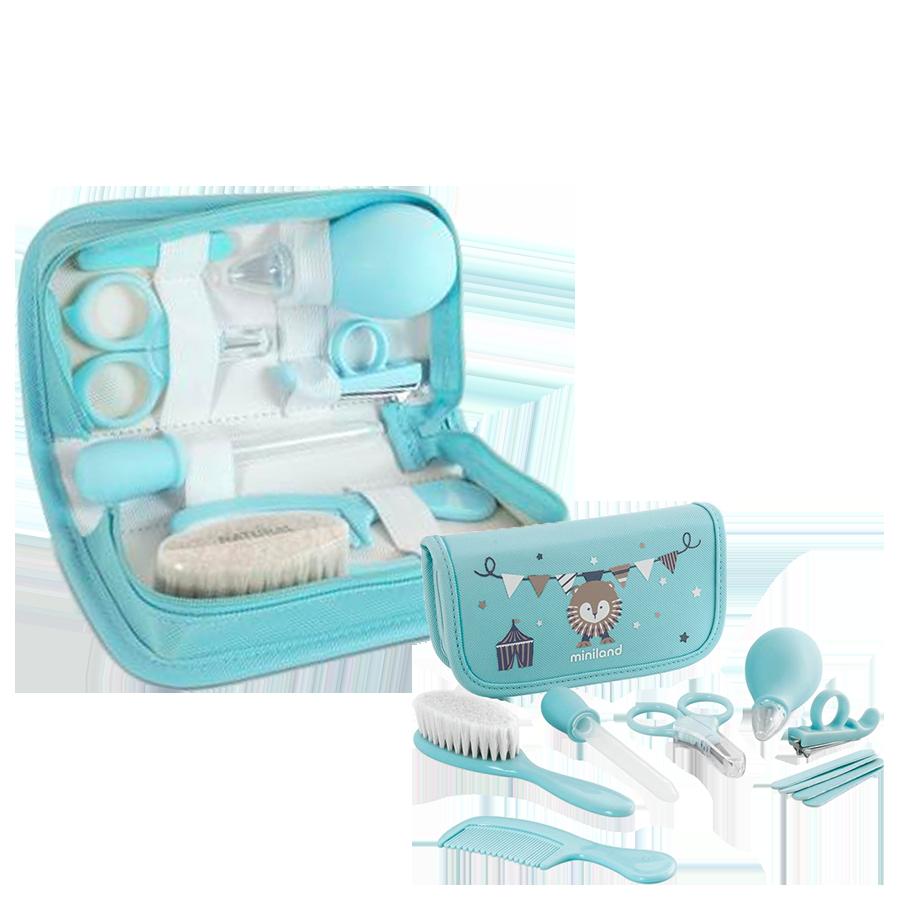 Trousse de Soins Baby Kit 0m+ Bleu - Miniland