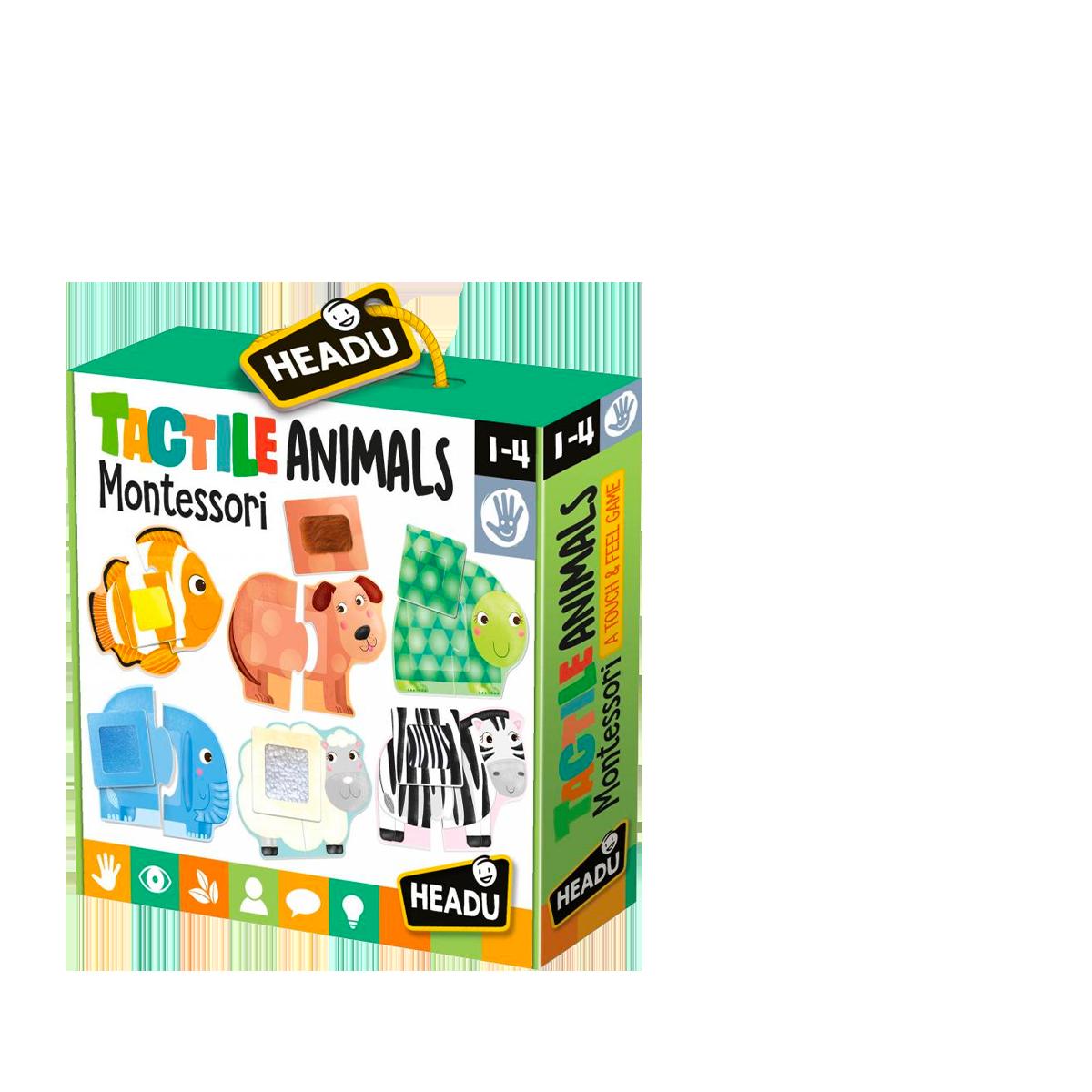 Animaux Tactiles Montessori - Headu