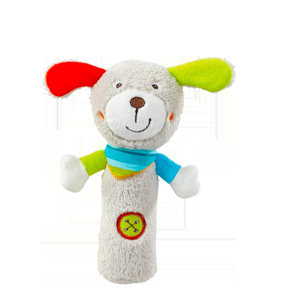 Peluche musicale   - Hochet Puppy - Fehn